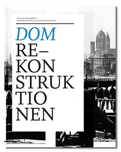 Cover Domrekonstruktionen FH-Sonderedition Nr. 01
