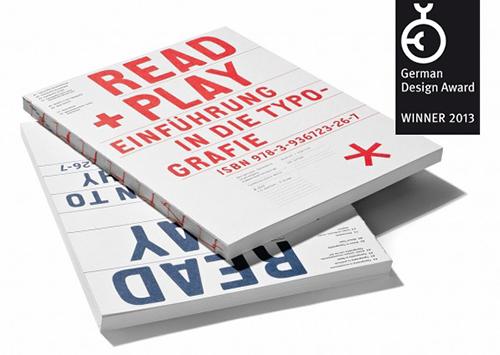 Cover »read & play. Einführung in die Typografie«