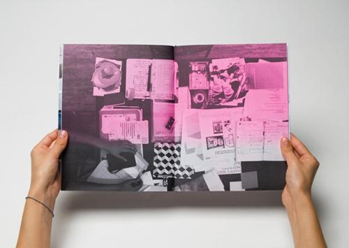 Seitenpaar Werkbericht Nr. 15 — YIP YAP YELL