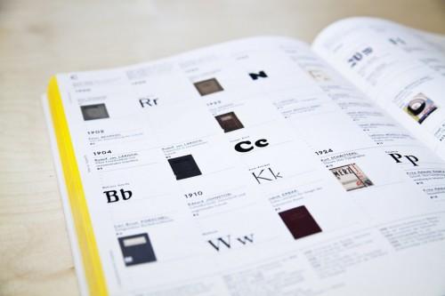 Seite Texte zur Typografie