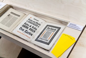 Ausstellung ON TYPE im Gutenberg-Museum Mainz