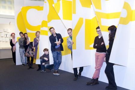 Das Team der Ausstellung ON TYPE im Gutenberg-Museum Mainz