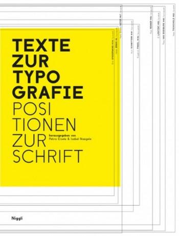 Cover Texte zur Typografie