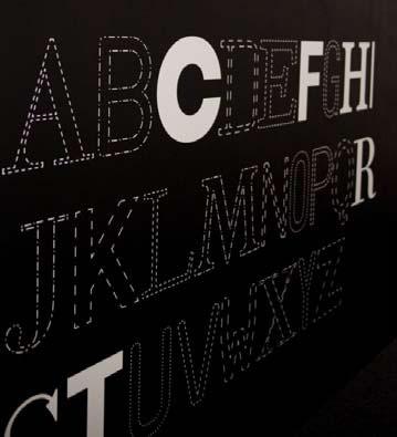 Exponat der Ausstellung ON—TYPE