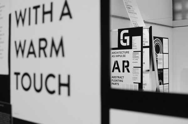 Impression der Ausstellung »Call for Type. New Typefaces / Neue Schriften«