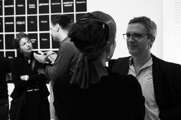 Die Kuratorinnen der Ausstellung »Call for Type. New Typefaces / Neue Schriften«