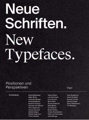 Titel der Publikation »Neue Schriften. New Typefaces«