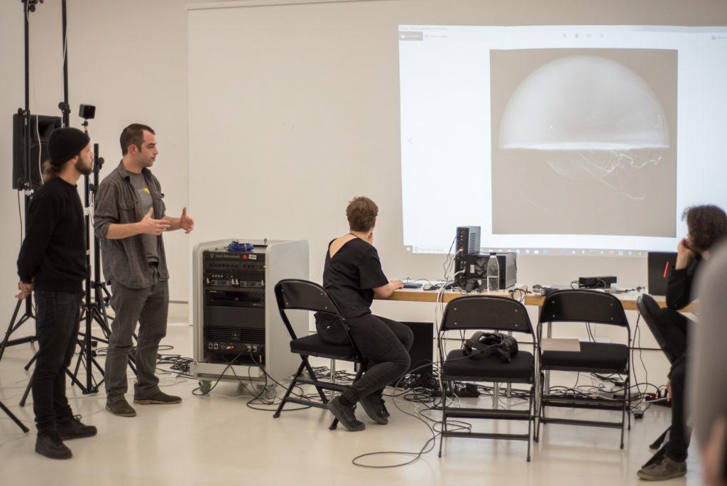 Präsentation der Ergebnisse des 12. Choreographic Coding Labs in Mainz